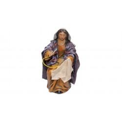 Pastora cosiendo (95414-418)