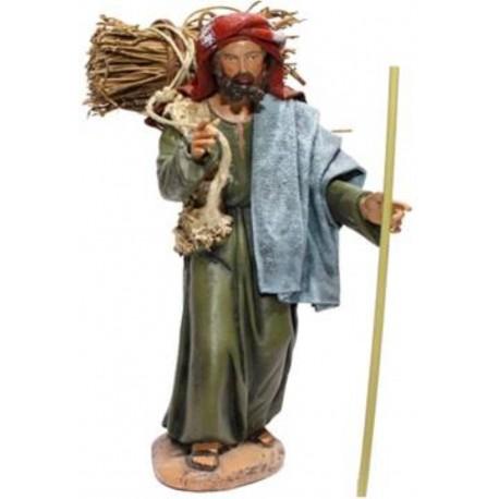 Pastor con leña (95458-462)