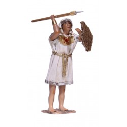 Egipcio con lanza y escudo (95505-95508)