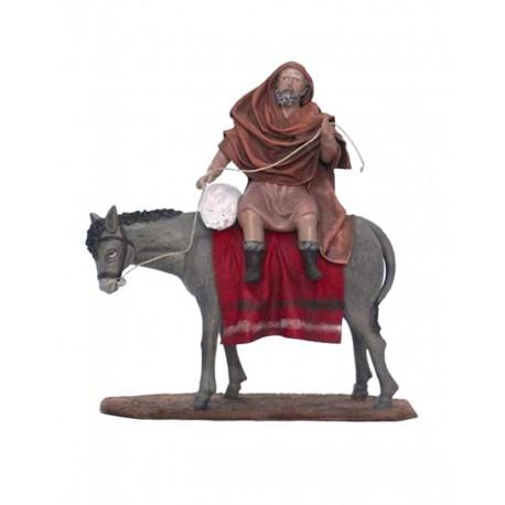 Pastor montado en mula (95359-363)