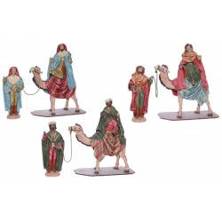 Reyes a camello lienzados (225-229)